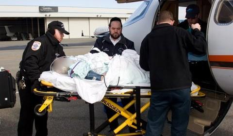 Stroke Victim Repatriated to Israel