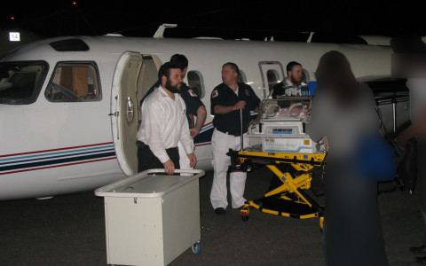 5:00 am Teterboro Airport Infant Saved by Airborne Rescue